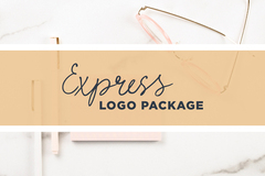 Offering online services: Express Logo Package