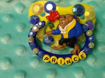 Selling with online payment: Custom Decorated Prince Adult Pacifier