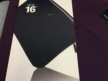 "Buy Now: 25 lot Targus A7 16"" Laptop Zippered Sleeve Burgandy"