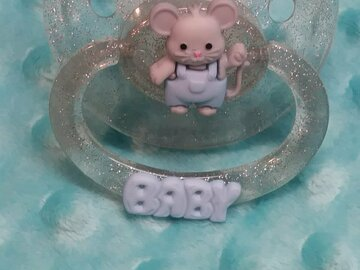 Selling with online payment: BABY Custom Designed Adult Pacifier -Mouse