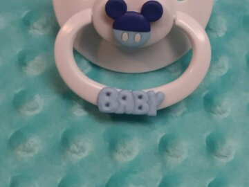 Selling with online payment: BABY Custom Designed Adult Pacifier