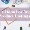 Offering online services: 5 x Ready to Publish Item Listings