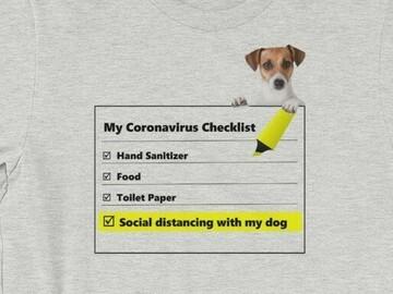 Selling: Corona Charity Tshirt