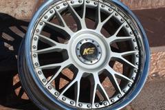 Selling: Koenig Specisals Mesh 17 inch 3PIECE wheels
