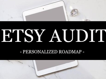 Offering online services: Etsy Shop Audit