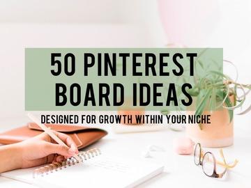 Offering online services: ⭐️ 50 Pinterest Board Ideas
