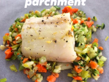Partage: Steamed fish with vegetables