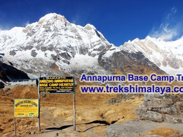 Offering with online payment: Treks Himalaya - Annapurna Base Camp Trek