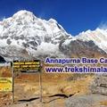Offering with online payment: Treks Himalaya - Annapurna Base Camp Trek