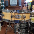 SOLD!: SOLD! Pearl 4x14 wood piccolo snare drum - Like New! $199