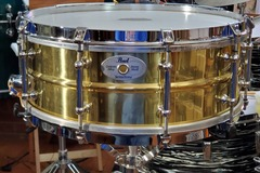 "SOLD!: SOLD! 5.5 X 14"" Pearl Brass Sensitone Classic, Model #B6514DCLa"