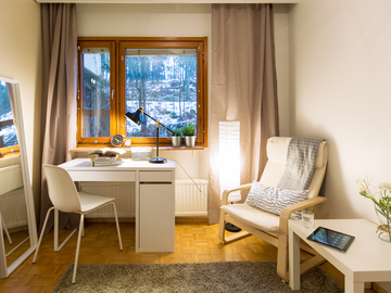 Renting out: Nice & spacious furnished rooms just 20 min from city center !