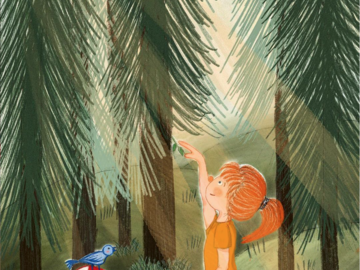 Offering with online payment: Children book Illustration