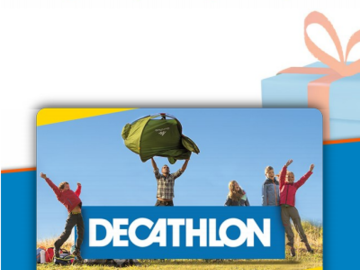 Vente: e-Carte Cadeau DECATHLON (50€)