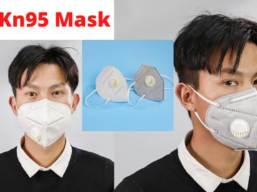 Buy Now: 100 pcs Kn95 Mask Coronavirus COVID-19 Mouth Face Protection