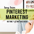 Offering online services: ⭐️ Long Term Pinterest Marketing (3 months)