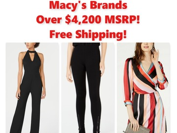 Buy Now: Women's NWT Clothing, Macy's Brands, $4,260 MSRP, Free Shipping!