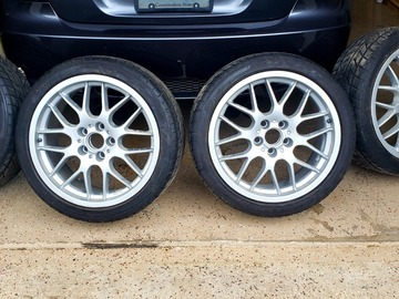 Selling: BBS wheels & tires 5x114.3