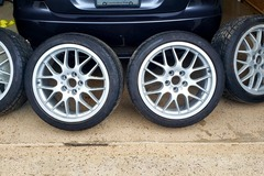 Selling: BBS wheels & tires 5x114.3