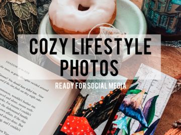 Offering online services: Cozy Lifestyle Photos Ready for Social Media