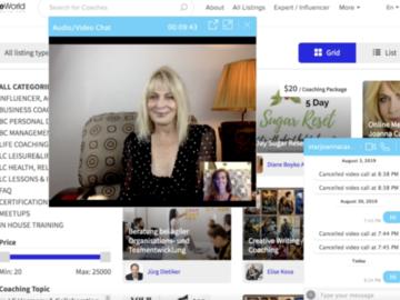 Website Announcement: Fan engagement platform - video chat with fans