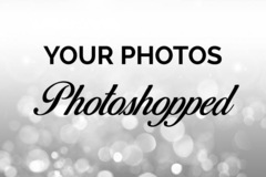 Offering online services: Photoshop Editing