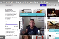 Website Announcement: Talk with fans platform  - video chat with fans