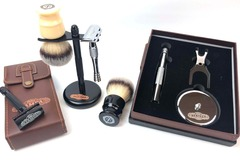 Buy Now: TSC Shaving Co. Precision Shaving Kits, Chrome Stands & More