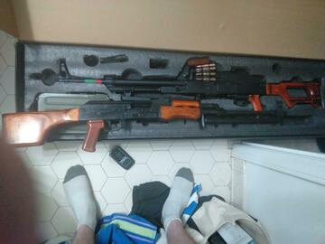 Selling: BONEYARD GHK RPK + three hpa tapped akm mags