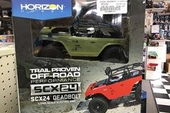 Selling: SCX24 Deadbolt 1/24th Scale Elec 4WD - RTR, Green