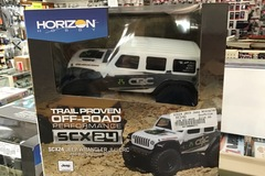 Selling: SCX24 2019 Jeep Wrangler JLU CRC 1/24 4WD-RTR WHT, AXI00002t1