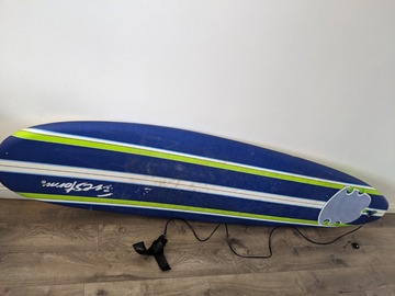 For Rent: Great condition 8ft wavestorm longboard