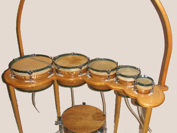 """Selling with online payment: American Percussion """" Naggara Drums """"  ( Will Ship)"""