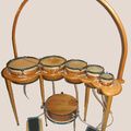 "Selling with online payment: American Percussion "" Naggara Drums """