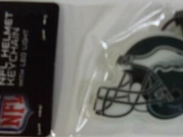 Buy Now: Lot of 50 Philadelphia Eagles Helmet Key Chain with LED Light