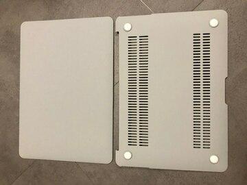 "Myydään: Gray plastic cover for Macbook Air 13"" A1466 & A1369"