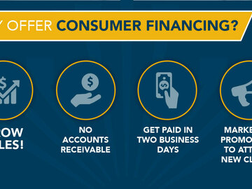 Announcement: Offer Instant Customer Financing! NO CREDIT CHECK!
