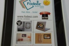 """Buy Now: Lot of 48 Fodeez Adhesive Display Frames. 4"""" x 6"""" photos or small"""