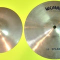 "Selling with online payment: Zildjian 8"" & WUHAN 10"" splash cymbals"