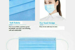 Buy Now: 100PCS Disposable Surgical Face Mask USA Fast Shipping-Anti-fog