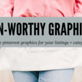 Offering online services: Create Pinterest Worthy Graphics for Your Listings
