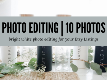 Offering online services: Bright White Photo Editing - 10 Photos