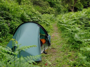 Renting out with online payment: Wild country tent