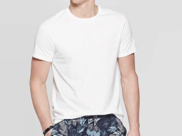 Buy Now: Men's Standard Fit Short Sleeve Crew Neck T-Shirt Size Large