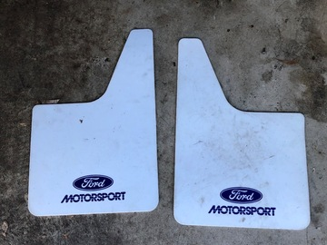 Selling with online payment: Ford Motorsport truck mud flaps