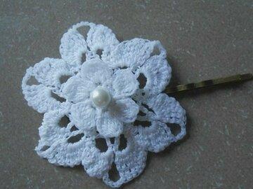 Sale retail: barrette cheveux femme, pince barrette cheveux fleurs mariage au
