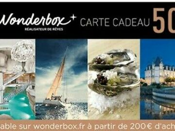 Vente: Bon de réduction Wonderbox (50€)
