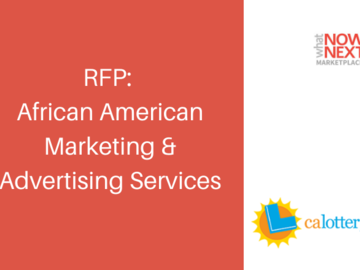 Procurement Listing: RFP: African American Marketing Services