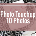 Offering online services: Photo Touchup up to 10 Photos