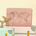 : Pink Stitch Where You've Been Passport Cover